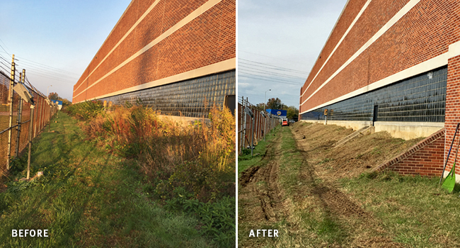 Boxwood Industrial Park – Curb Appeal Before and After